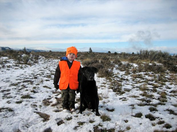 reece's first hunt 11:2010