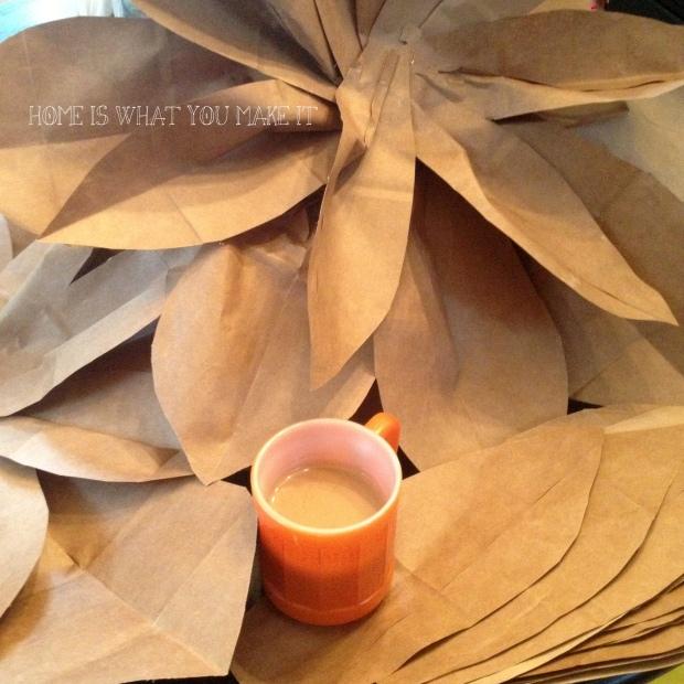 paper bag flowers 1