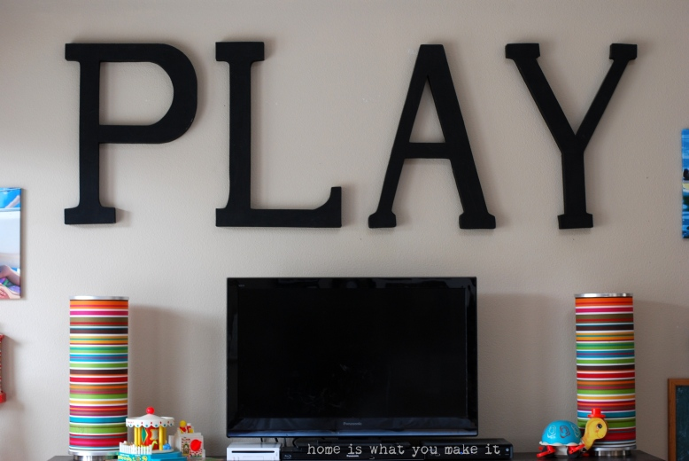 home made lovely - playroom 4