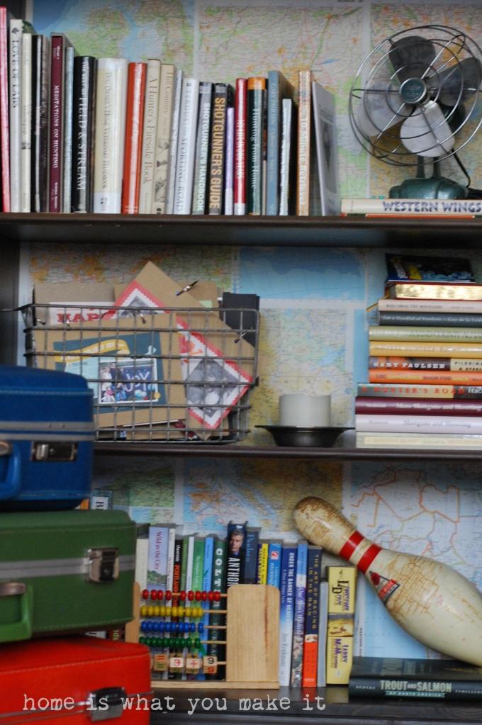 home made lovely - family room 6