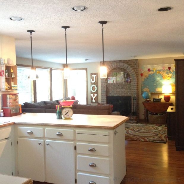 instagram kitchen and family room