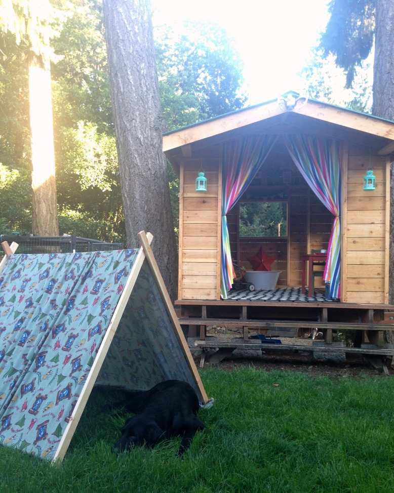 {july 20} pup tent