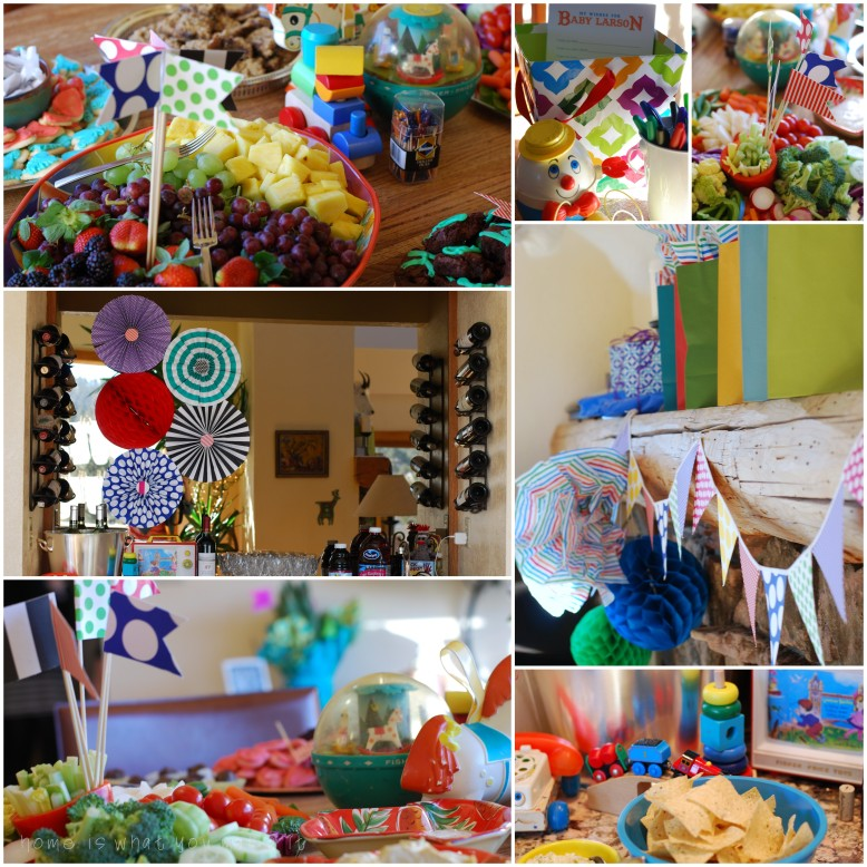boys love toys {a baby shower} 3