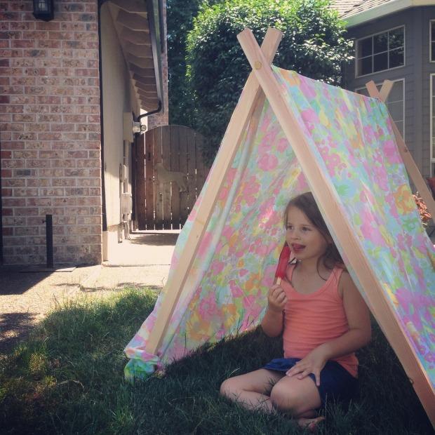 a frame tent 2