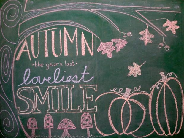 fall chalkboard artwork 10