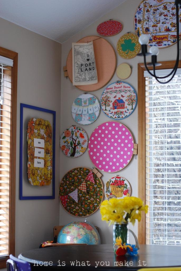 home made lovely - undining room 7