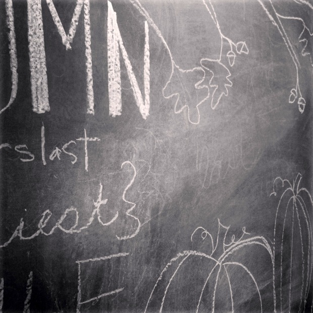 fall chalkboard artwork 1
