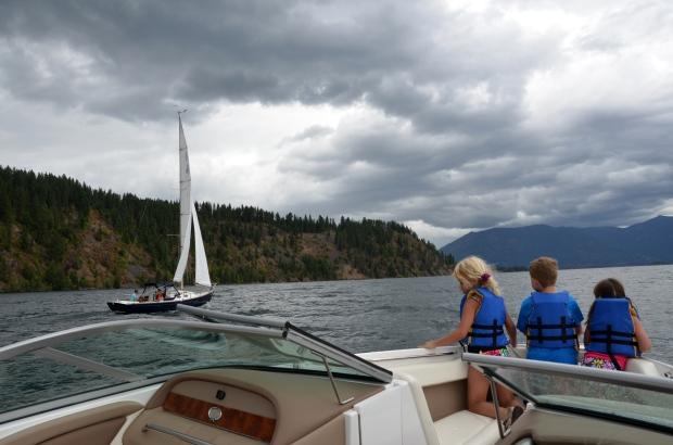 {july 25} sailing 9