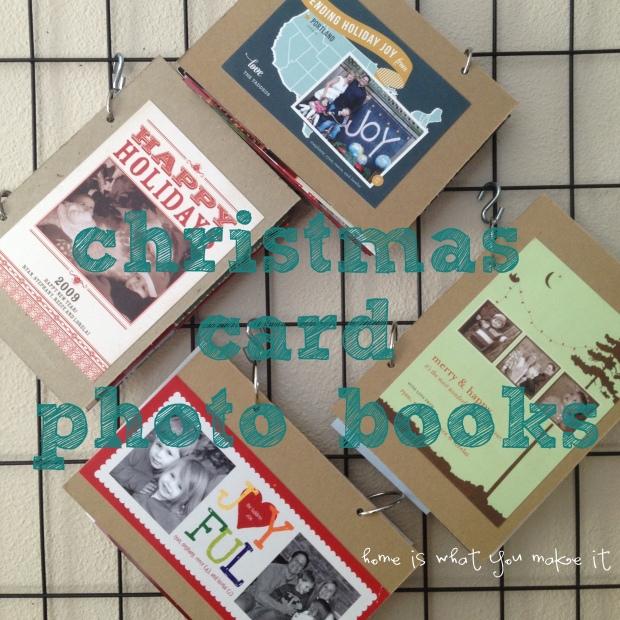 easy christmas card photo books