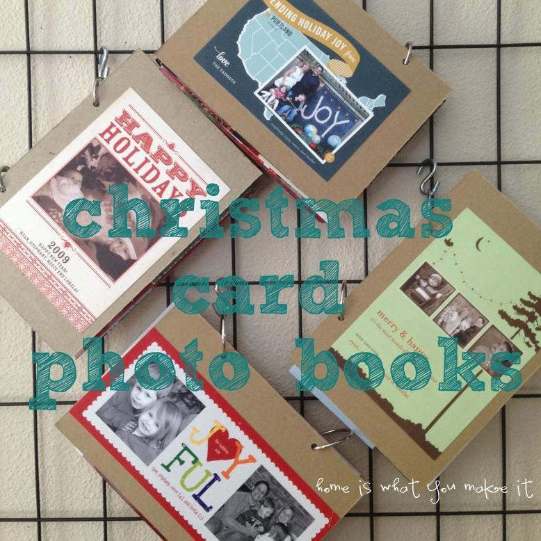 easy christmas card photo books