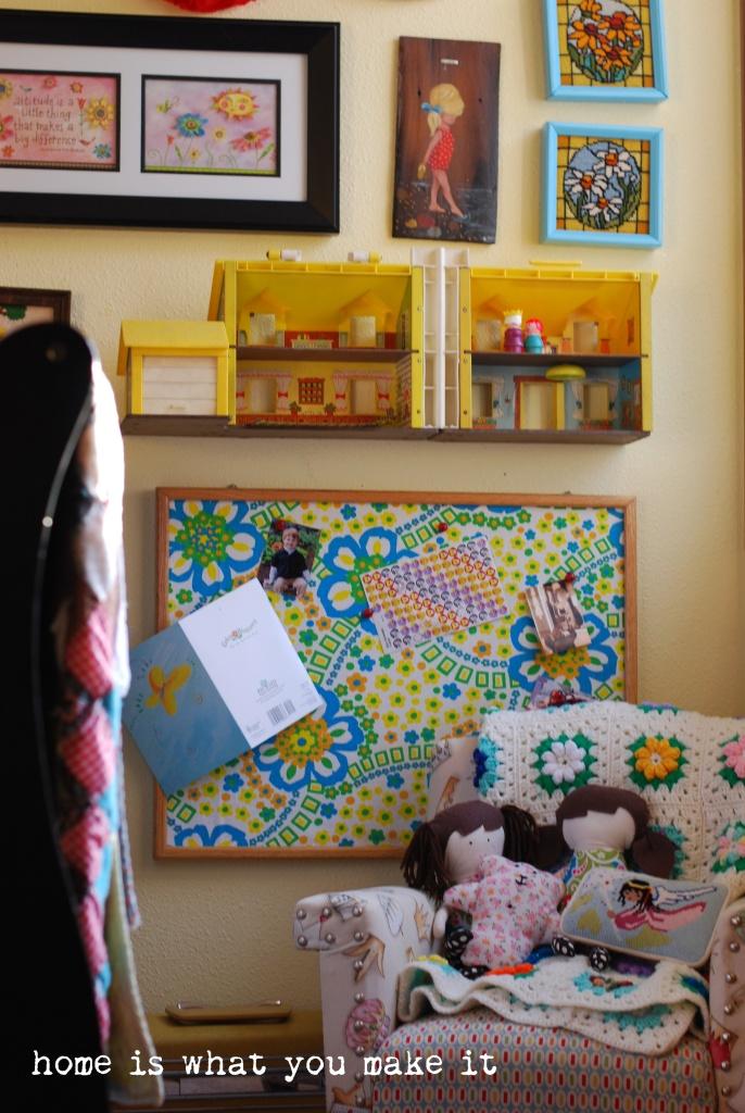 home made lovely - lorelai's room 5