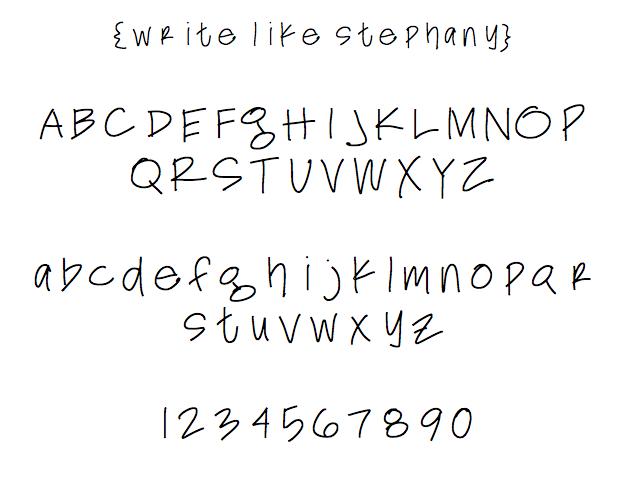 write like stephany