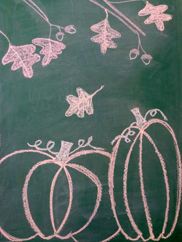 fall chalkboard artwork 8