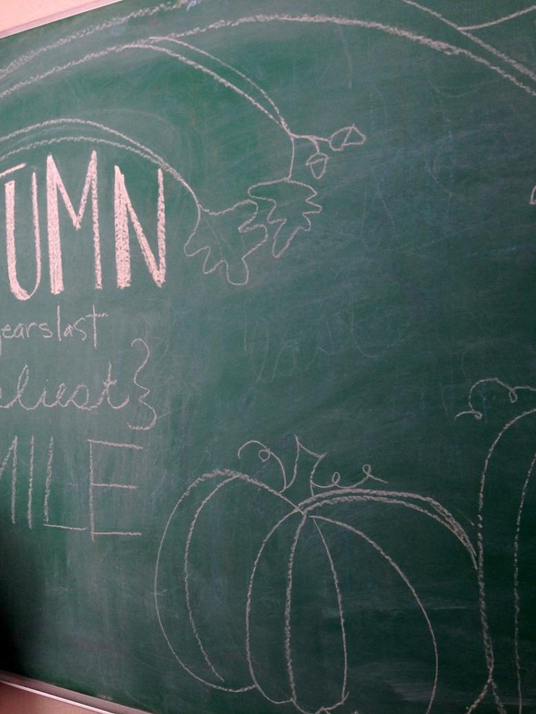 fall chalkboard artwork 12