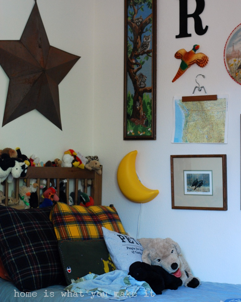 home made lovely - reece's room 9