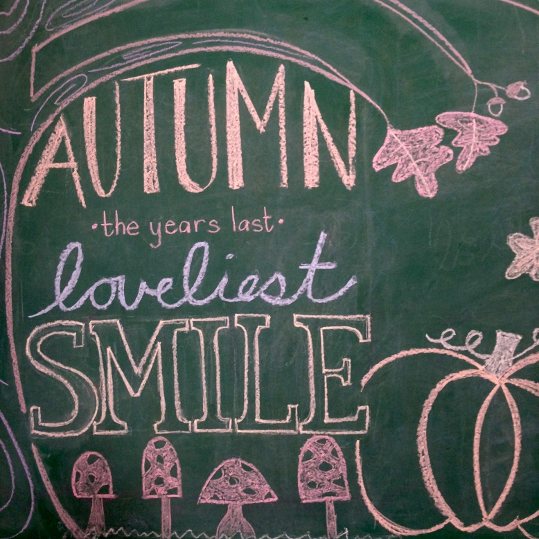 fall chalkboard artwork 13
