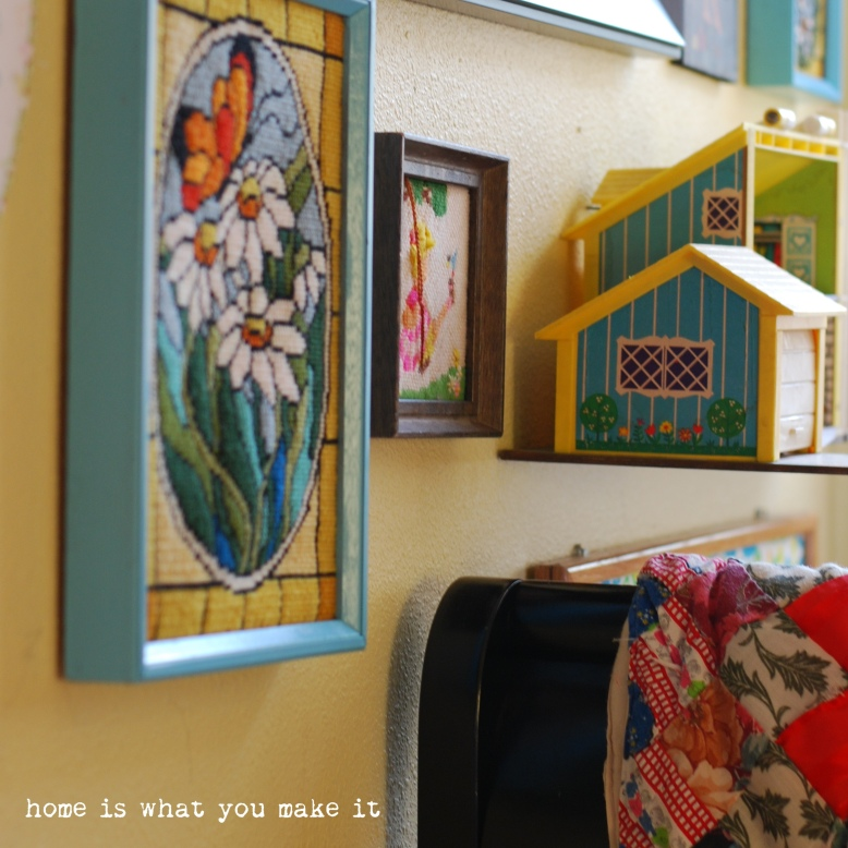home made lovely - lorelai's room 9