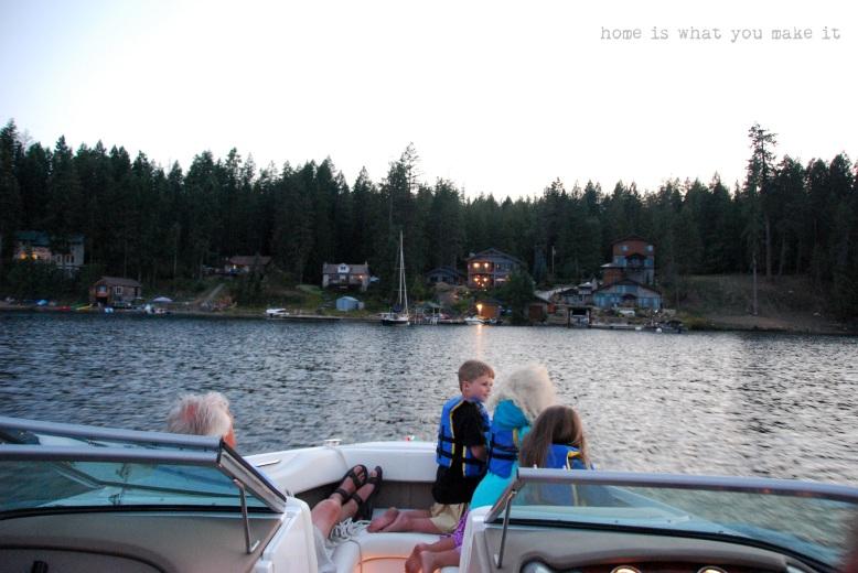 at the lake 55