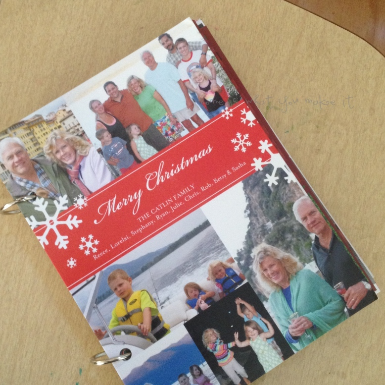 easy christmas card photo books 8