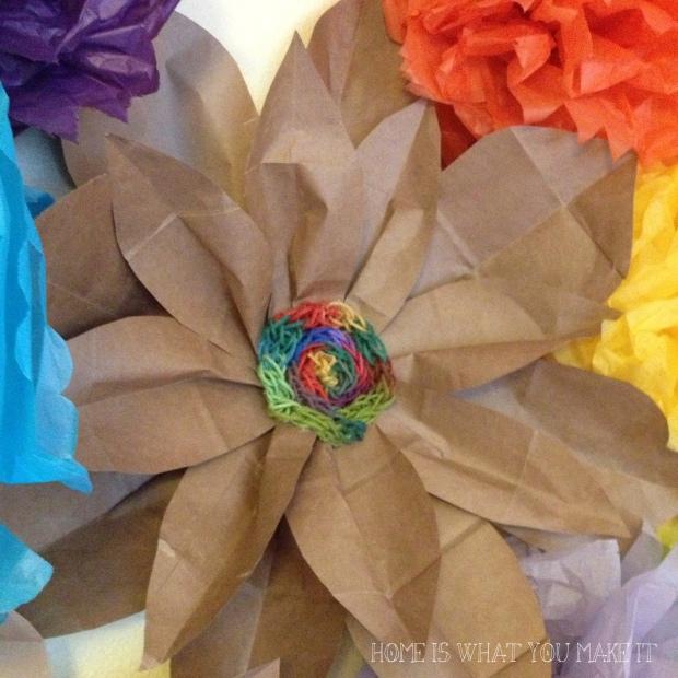 paper bag flowers 5
