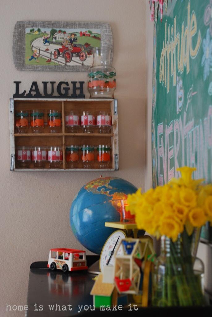 home made lovely - undining room 4