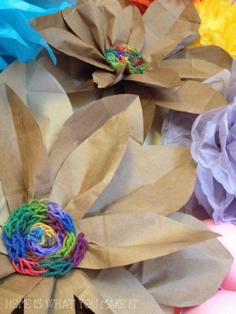 paper bag flowers 3
