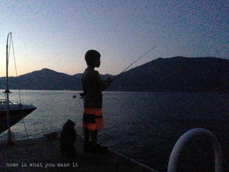 at the lake 1
