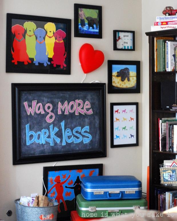 home made lovely - family room 8
