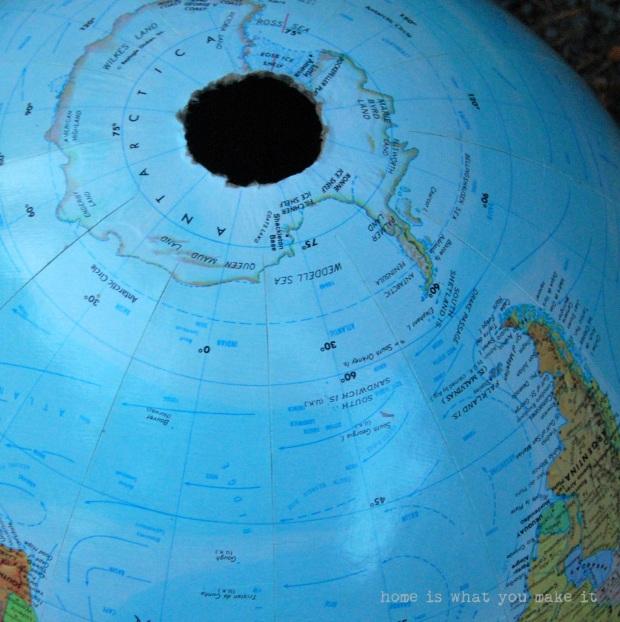 {diy} globe pendant light 6