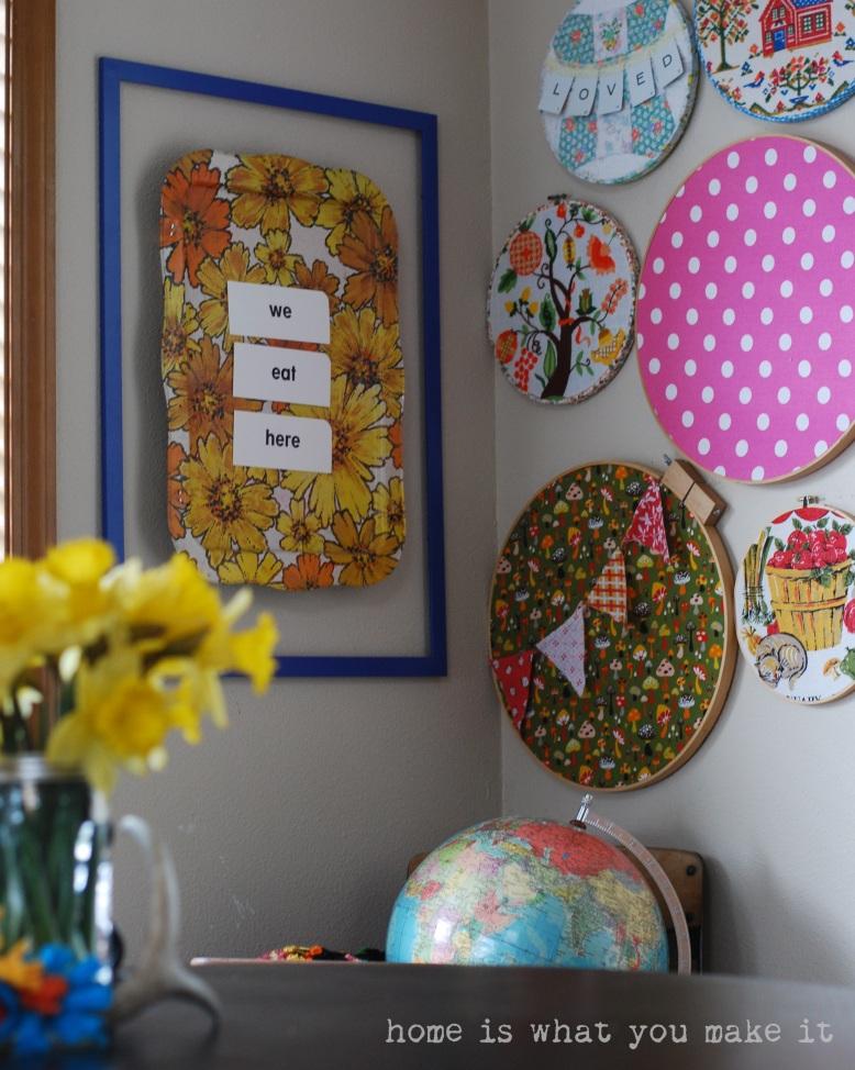 home made lovely - undining room 6
