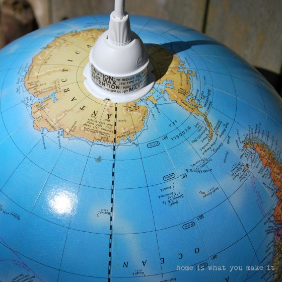 {diy} globe pendant light 7
