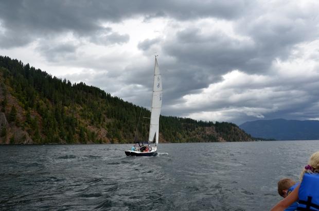 {july 25} sailing 8