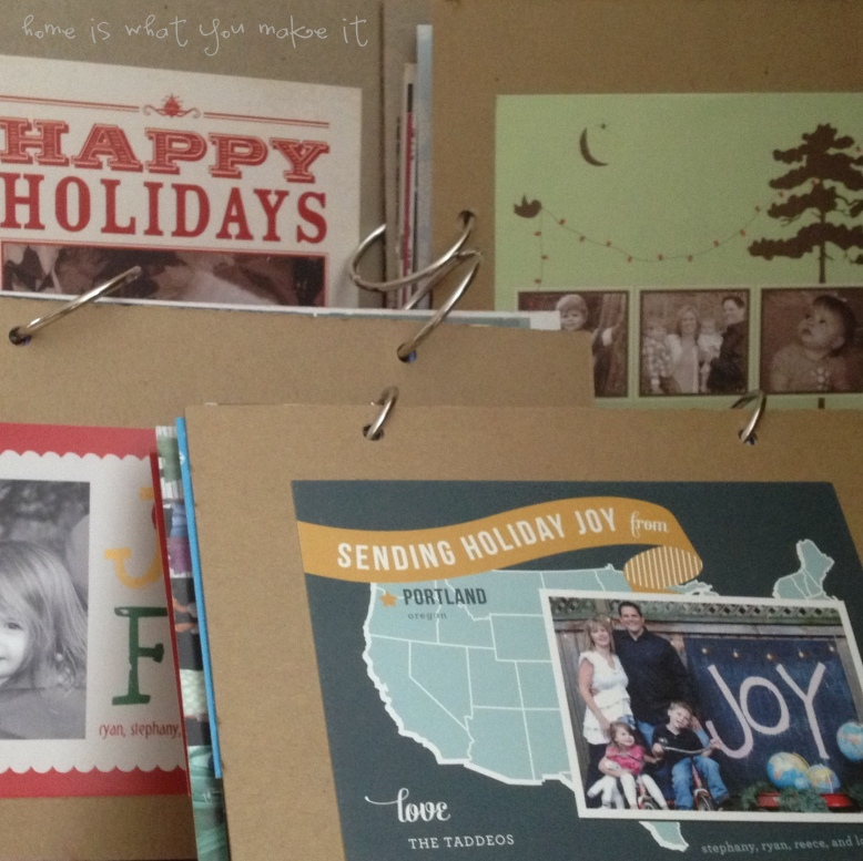easy christmas card photo books 1
