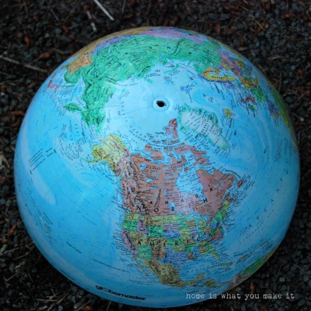 {diy} globe pendant light 5